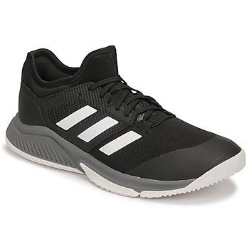 Boty Muži Sálová obuv adidas Performance Court Team Bounce M Černá