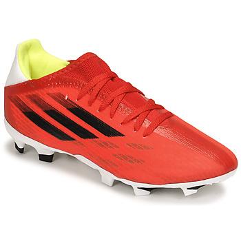 Boty Fotbal adidas Performance X SPEEDFLOW.3 FG Červená