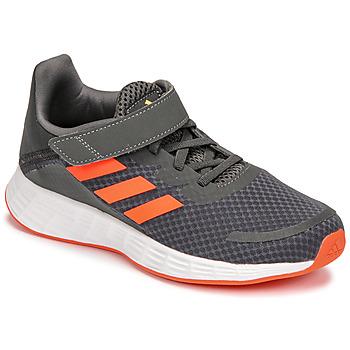 Boty Chlapecké Běžecké / Krosové boty adidas Performance DURAMO SL C Šedá / Červená