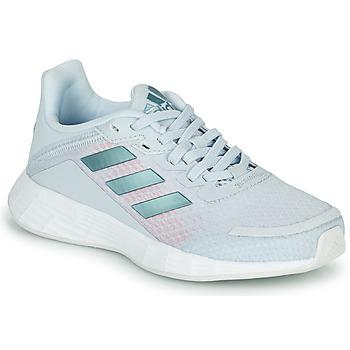 Boty Dívčí Běžecké / Krosové boty adidas Performance DURAMO SL K Modrá