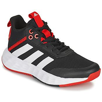 Boty Děti Basketbal adidas Performance OWNTHEGAME 2.0 K Černá / Červená