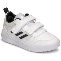 Boty Děti Nízké tenisky adidas Performance TENSAUR C Bílá / Černá