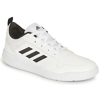 Boty Děti Nízké tenisky adidas Performance TENSAUR K Bílá / Černá