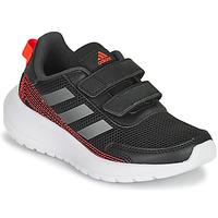 Boty Chlapecké Běžecké / Krosové boty adidas Performance TENSAUR RUN C Černá / Červená