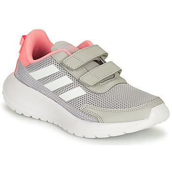 Boty Dívčí Běžecké / Krosové boty adidas Performance TENSAUR RUN C Šedá / Růžová