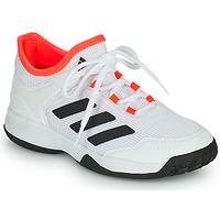 Boty Děti Tenis adidas Performance Ubersonic 4 k Bílá / Červená