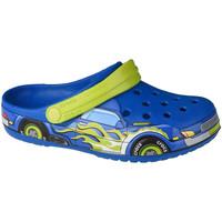 Boty Děti Pantofle Crocs Fun Lab Truck Band Clog Modrá