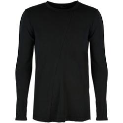 Textil Muži Trička s dlouhými rukávy Xagon Man  Černá