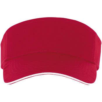 Textilní doplňky Kšiltovky Sols ACE ROJO Y BLANCO Rojo