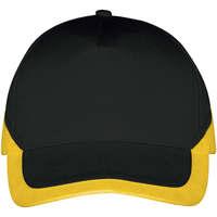 Textilní doplňky Kšiltovky Sols BOOSTER Negro Amarillo Negro