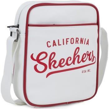 Taška Kabelky s dlouhým popruhem Skechers STRIKE Unisex taška Bílé