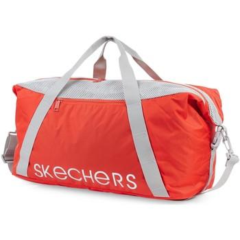 Taška Cestovní tašky Skechers NET Unisex taška Mandarínská červená