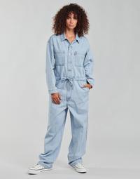 Textil Ženy Overaly / Kalhoty s laclem Levi's ROOMY JUMPSUIT Modrá