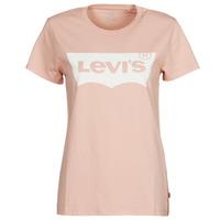 Textil Ženy Trička s krátkým rukávem Levi's THE PERFECT TEE Růžová