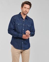 Textil Muži Košile s dlouhymi rukávy Levi's BARSTOW WESTERN STANDARD Modrá