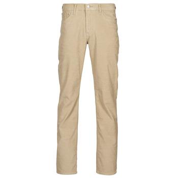 Textil Muži Kapsáčové kalhoty Levi's 512 SLIM Béžová
