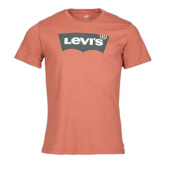 Textil Muži Trička s krátkým rukávem Levi's HOUSEMARK GRAPHIC TEE Terakotová