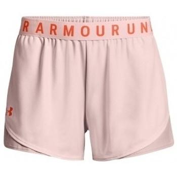 Textil Ženy Kraťasy / Bermudy Under Armour Play Up Short 3.0 růžová