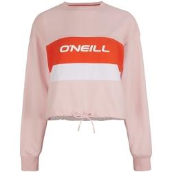 Textil Ženy Teplákové bundy O'neill Athleisure Crew Růžový