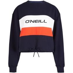 Textil Ženy Teplákové bundy O'neill LW Athleisure Crew Modrý