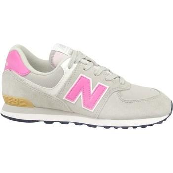 Boty Dívčí Nízké tenisky New Balance 574 Béžové