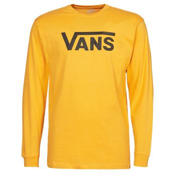Textil Muži Trička s dlouhými rukávy Vans VANS CLASSIC LS Žlutá / Černá