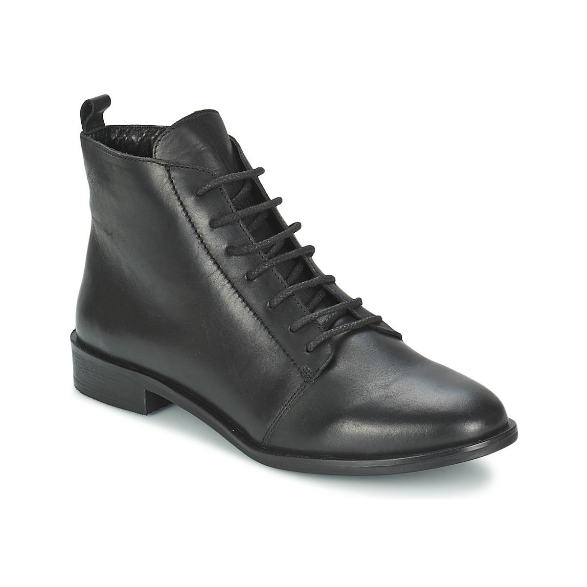 Kotnikove boty BT London MUSA Černá