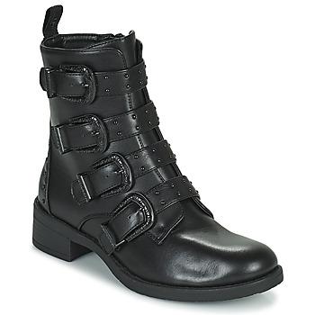 Boty Ženy Kotníkové boty Les Petites Bombes QUADRI Černá