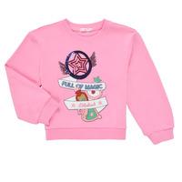 Textil Dívčí Mikiny Billieblush LOUNNA Růžová