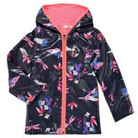 Textil Dívčí Parky Billieblush SEMILA Tmavě modrá