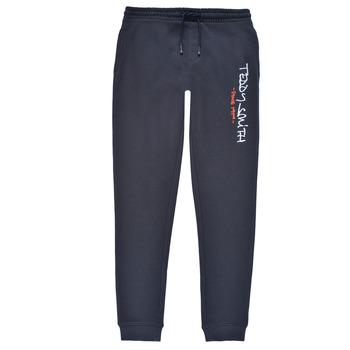 Textil Chlapecké Teplákové kalhoty Teddy Smith P-JOG 2 Tmavě modrá