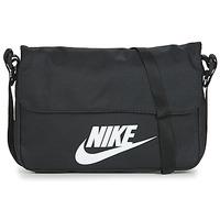 Taška Kabelky s dlouhým popruhem Nike NIKE SPORTSWEAR Černá / Bílá