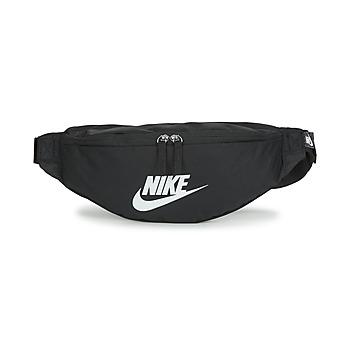 Taška Ledvinky Nike NK HERITAGE WAISTPACK - FA22 Černá / Bílá