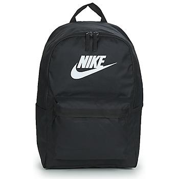 Taška Batohy Nike NIKE HERITAGE Černá / Bílá