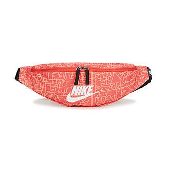 Taška Ženy Ledvinky Nike NK HERITAGE WSTPCK FA21 AOP2 Růžová / Černá / Bílá