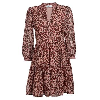 Textil Ženy Krátké šaty Liu Jo WF1019 Hnědá