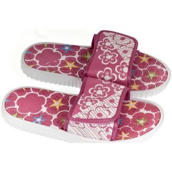 Boty Ženy pantofle John-C Dámske ružové šľapky BETTY ružová
