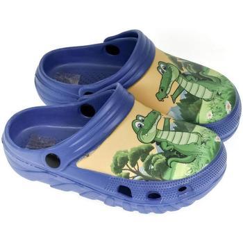 Boty Chlapecké Pantofle John-C Detské modré crocsy SHAR modrá