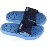 Boty Chlapecké pantofle John-C Detské modré šľapky IFAN modrá