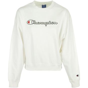 Textil Ženy Mikiny Champion Crewneck Sweatshirt Bílá