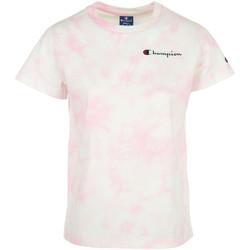 Textil Ženy Trička s krátkým rukávem Champion Crewneck T-Shirt Růžová