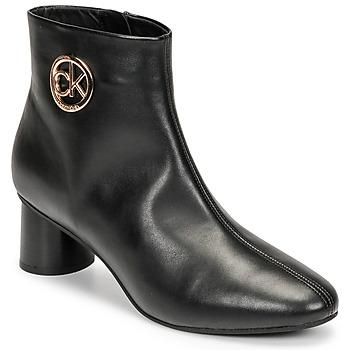 Boty Ženy Kotníkové boty Calvin Klein Jeans CYLINDER ANKLE BOOT Černá