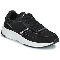 Boty Muži Nízké tenisky Calvin Klein Jeans LOW TOP LACE UP MIX Černá
