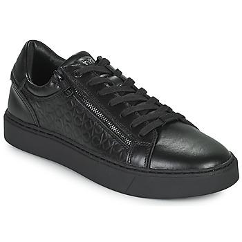 Boty Muži Nízké tenisky Calvin Klein Jeans LOW TOP LACE UP Černá