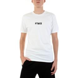 Textil Muži Trička s krátkým rukávem Pyrex 42441 Bílá