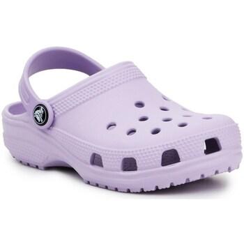Boty Děti Pantofle Crocs Classic Clog K Fialové