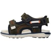 Boty Chlapecké Sportovní sandály Geox B154LA02285 Zelená
