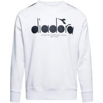 Textil Muži Mikiny Diadora 502175376 Bílý