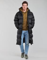 Textil Muži Prošívané bundy Schott 2190 MAX Černá