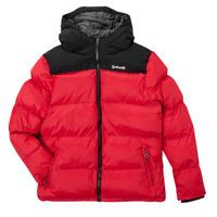 Textil Děti Prošívané bundy Schott UTAH 2 Červená